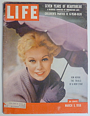 Life Magazine-March 5, 1956-Kim Novak: New Star (Image1)