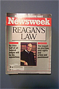 Newsweek Magazine - June 30, 1986 - Reagan's Law