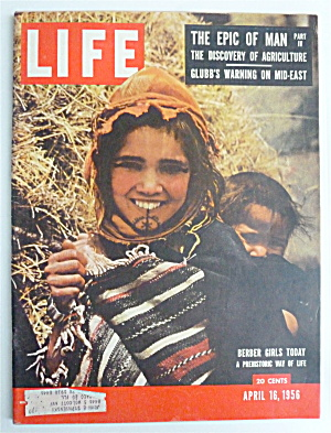 Life Magazine-april 16, 1956-berber Girls Today