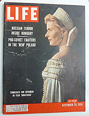 Life Magazine-November 26, 1956-Bergman  (Image1)