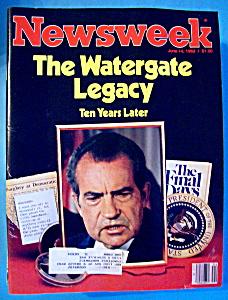 Newsweek Magazine - June 14, 1982 - Watergate Legacy (Image1)