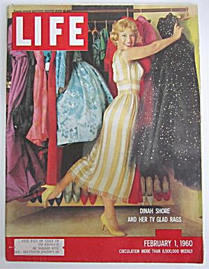 Life Magazine-February 1, 1960-Dinah Shore  (Image1)