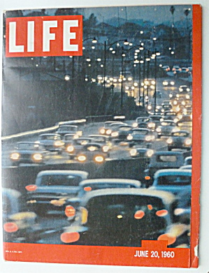 Life Magazine-June 20, 1960-Busiest Freeway  (Image1)