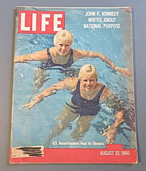 Life Magazine-August 22, 1960-U.S. Record Breakers  (Image1)