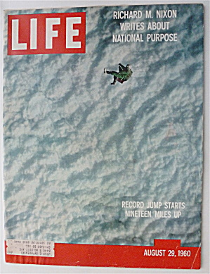 Life Magazine-august 29, 1960-record Jump