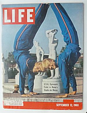 Life Magazine-September 12, 1960-Gymnasts Frolic  (Image1)