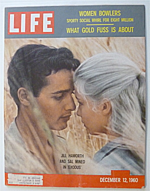 Life Magazine-December 12, 1960-Jill Haworth/Sal Mineo (Image1)