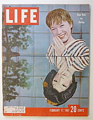 Life Magazine-February 17, 1961-Shirley MacLaine  (Image1)