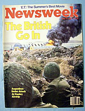Newsweek Magazine-May 31, 1982-British Go In (Image1)
