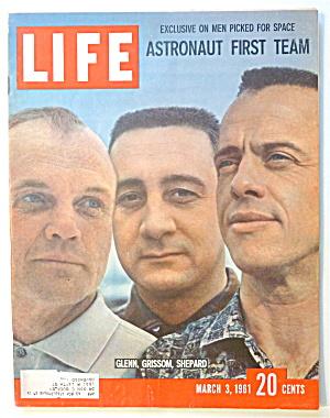 Life Magazine-March 3, 1961-Glenn, Grissom & Shepard (Image1)