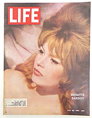 Life Magazine-July 28, 1961-Brigitte Bardot (Image1)