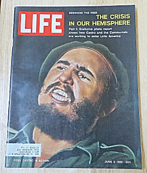 Life Magazine-June 2, 1961-Fidel Castro In Action (Image1)