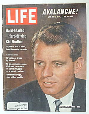Life Magazine-January 26, 1962-Bobby Kennedy  (Image1)