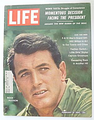 Life Magazine-February 16, 1962-Rock Hudson (Image1)