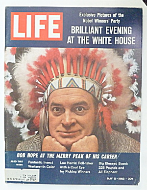 Life Magazine-may 11, 1962-bob Hope At Peak Of Career