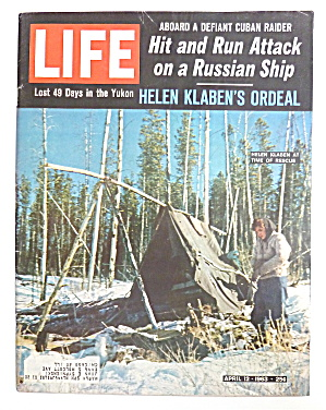 Life Magazine-April 12, 1963-Helen Klaben (Image1)