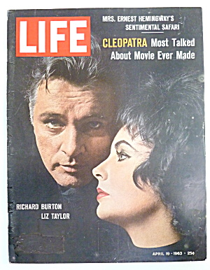 Life Magazine-April 19, 1963-Burton & Taylor (Image1)