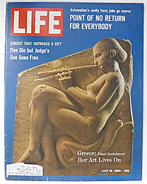 Life Magazine-july 19, 1963-greece
