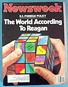 Newsweek Magazine - November 9, 1981 - World To Reagan (Image1)