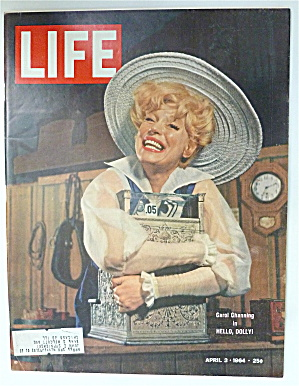 Life Magazine-april 3, 1964-carol Channing