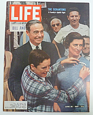 Life Magazine-june 26, 1964-the Scrantons