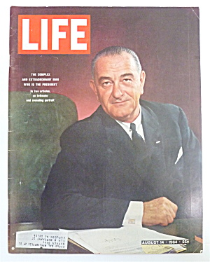 Life Magazine-August 14, 1964-Who Is The President (Image1)