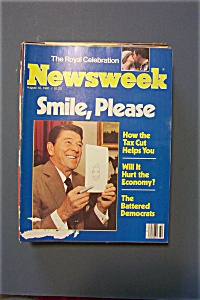 Newsweek Magazine - August  10, 1981 (Image1)