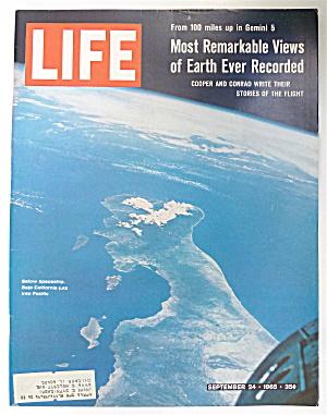 Life Magazine-September 24, 1965-Below Spaceship (Image1)