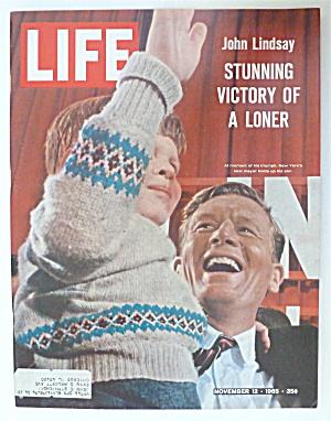 Life Magazine-November 12, 1965-John Lindsay & Son (Image1)