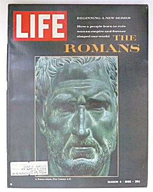 Life Magazine-March 4, 1966-The Romans  (Image1)