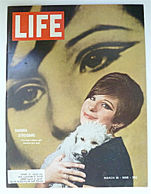 Life Magazine-March 18, 1966-Barbra Streisand  (Image1)