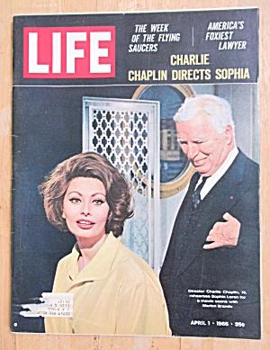 Life Magazine-April 1, 1966-Charlie Chaplin (Image1)