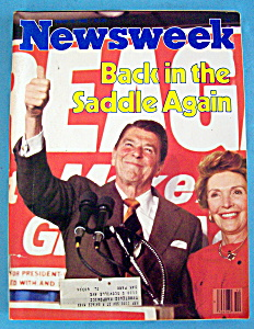 Newsweek Magazine - March 10, 1980 - President Reagan