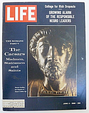 Life Magazine-june 3, 1966-the Caesars