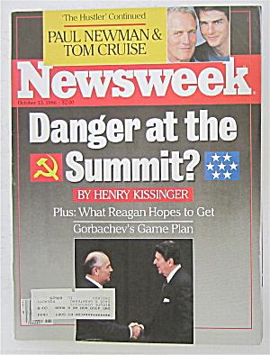 Newsweek Magazine October 13, 1986 Danger At Summit (Image1)