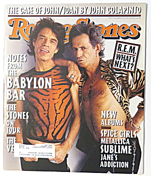 Rolling Stone December 11, 1997 The Stones On Tour