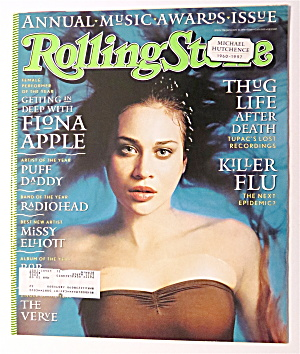 Rolling Stone January 22, 1998 Fiona Apple