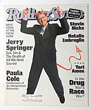 Rolling Stone May 14, 1998-Jerry Springer  (Image1)