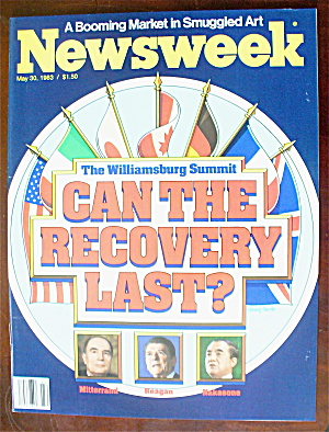Newsweek Magazine-May 30, 1983-Can Recovery Last? (Image1)