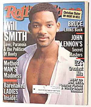 Rolling Stone December 10, 1998 Will Smith