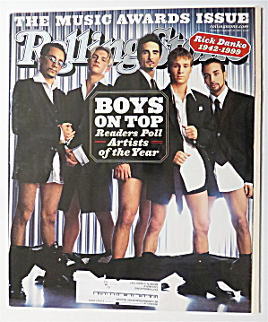Rolling Stone January 20, 2000 Boys On Top (Image1)