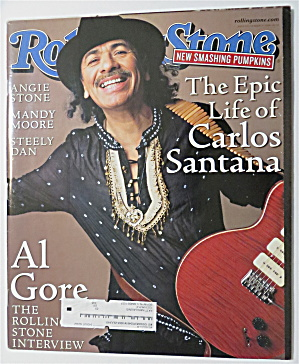 Rolling Stone March 16, 2000 Carlos Santana (Image1)