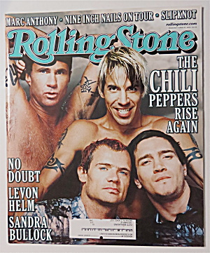 Rolling Stone April 27, 2000 Chili Peppers Rise Again
