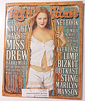 Rolling Stone November 23, 2000 Drew Barrymore