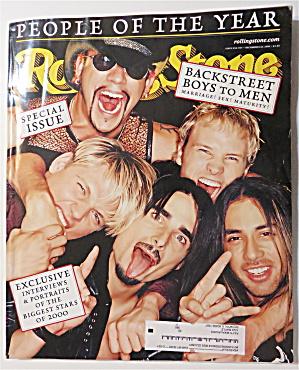 Rolling Stone December 14-21, 2000 Backstreet Boys  (Image1)