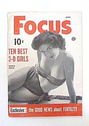 Focus Magazine June 1953 Mona Knox