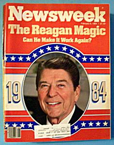 Newsweek Magazine - February 6, 1984 - Reagan Magic (Image1)