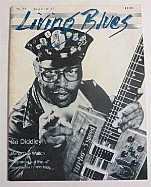 Living Blues Magazine December 1987 Bo Diddley