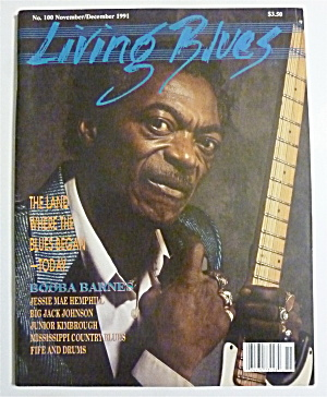 Living Blues Magazine Nov/dec 1991 Booba Barnes
