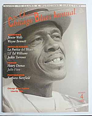 Original Chicago Blues Annual 1992 Junior Wells